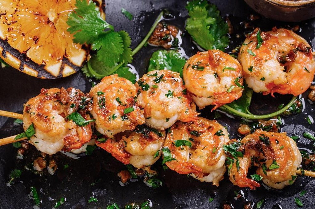 Grilled Spicy Lime Shrimp Kabobs Tajinny Com