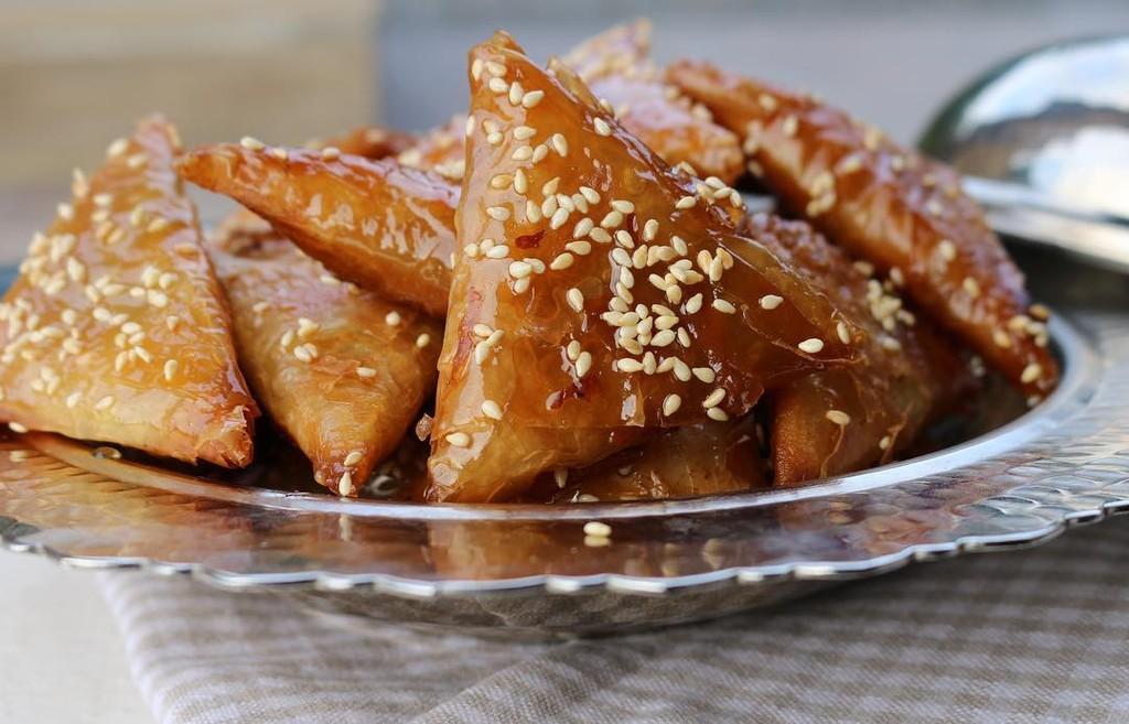 Moroccan almond briouats tajinny moroccan almond briouats moroccan recipe forumfinder Images