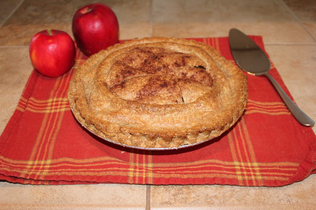 Easy whole wheat apple pie recipe